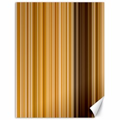 Brown Verticals Lines Stripes Colorful Canvas 18  X 24   by Mariart