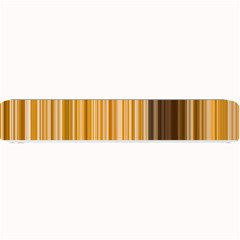Brown Verticals Lines Stripes Colorful Small Bar Mats by Mariart