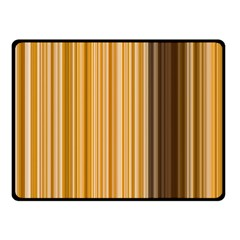 Brown Verticals Lines Stripes Colorful Fleece Blanket (small) by Mariart