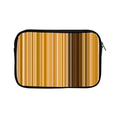 Brown Verticals Lines Stripes Colorful Apple Ipad Mini Zipper Cases by Mariart