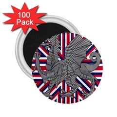 Alternatively Mega British America Dragon Illustration 2 25  Magnets (100 Pack)  by Mariart