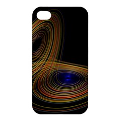 Wondrous Trajectorie Illustrated Line Light Black Apple Iphone 4/4s Hardshell Case by Mariart