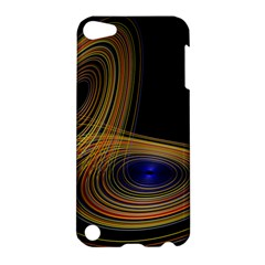 Wondrous Trajectorie Illustrated Line Light Black Apple Ipod Touch 5 Hardshell Case by Mariart