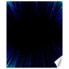 Colorful Light Ray Border Animation Loop Blue Motion Background Space Canvas 8  X 10