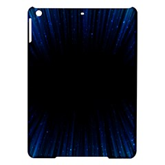 Colorful Light Ray Border Animation Loop Blue Motion Background Space Ipad Air Hardshell Cases by Mariart