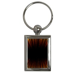 Colorful Light Ray Border Animation Loop Orange Motion Background Space Key Chains (rectangle)  by Mariart