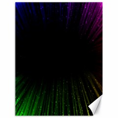 Colorful Light Ray Border Animation Loop Rainbow Motion Background Space Canvas 18  X 24   by Mariart