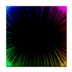 Colorful Light Ray Border Animation Loop Rainbow Motion Background Space Face Towel by Mariart