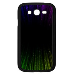 Colorful Light Ray Border Animation Loop Rainbow Motion Background Space Samsung Galaxy Grand Duos I9082 Case (black) by Mariart