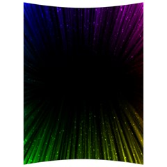 Colorful Light Ray Border Animation Loop Rainbow Motion Background Space Back Support Cushion