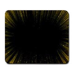 Colorful Light Ray Border Animation Loop Yellow Large Mousepads by Mariart