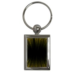 Colorful Light Ray Border Animation Loop Yellow Key Chains (rectangle)  by Mariart