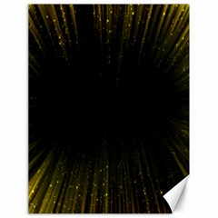 Colorful Light Ray Border Animation Loop Yellow Canvas 18  X 24   by Mariart