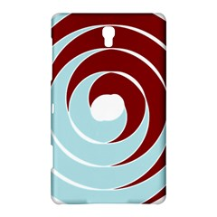 Double Spiral Thick Lines Blue Red Samsung Galaxy Tab S (8 4 ) Hardshell Case  by Mariart