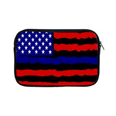 Flag American Line Star Red Blue White Black Beauty Apple Ipad Mini Zipper Cases by Mariart