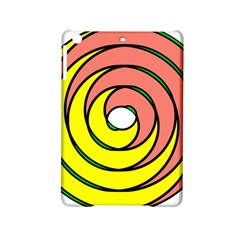 Double Spiral Thick Lines Circle Ipad Mini 2 Hardshell Cases by Mariart