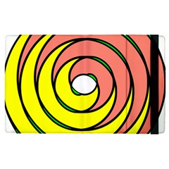 Double Spiral Thick Lines Circle Apple Ipad Pro 9 7   Flip Case by Mariart