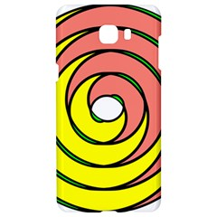 Double Spiral Thick Lines Circle Samsung C9 Pro Hardshell Case  by Mariart