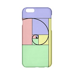 Golden Spiral Logarithmic Color Apple Iphone 6/6s Hardshell Case by Mariart