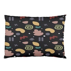 Funky Pattern Polka Wave Chevron Monster Pillow Case by Mariart