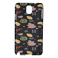 Funky Pattern Polka Wave Chevron Monster Samsung Galaxy Note 3 N9005 Hardshell Case by Mariart
