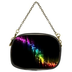 Illustration Light Space Rainbow Chain Purses (two Sides)  by Mariart