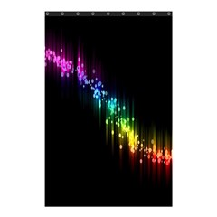 Illustration Light Space Rainbow Shower Curtain 48  X 72  (small)  by Mariart
