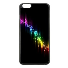 Illustration Light Space Rainbow Apple Iphone 6 Plus/6s Plus Black Enamel Case by Mariart