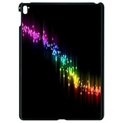 Illustration Light Space Rainbow Apple Ipad Pro 9 7   Black Seamless Case by Mariart