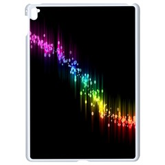 Illustration Light Space Rainbow Apple Ipad Pro 9 7   White Seamless Case by Mariart