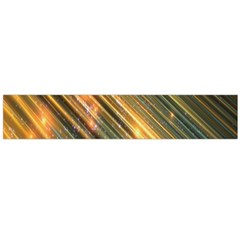 Golden Blue Lines Sparkling Wild Animation Background Space Flano Scarf (large) by Mariart