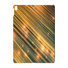 Golden Blue Lines Sparkling Wild Animation Background Space Apple Ipad Pro 10 5   Hardshell Case
