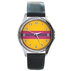 Layer Retro Colorful Transition Pack Alpha Channel Motion Line Round Metal Watch by Mariart