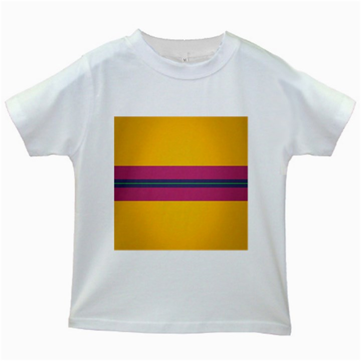 Layer Retro Colorful Transition Pack Alpha Channel Motion Line Kids White T-Shirts