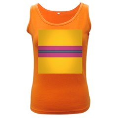 Layer Retro Colorful Transition Pack Alpha Channel Motion Line Women s Dark Tank Top by Mariart