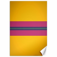 Layer Retro Colorful Transition Pack Alpha Channel Motion Line Canvas 20  X 30   by Mariart