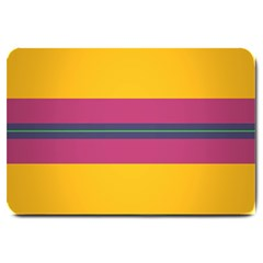 Layer Retro Colorful Transition Pack Alpha Channel Motion Line Large Doormat  by Mariart