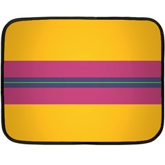 Layer Retro Colorful Transition Pack Alpha Channel Motion Line Double Sided Fleece Blanket (mini)  by Mariart