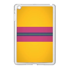 Layer Retro Colorful Transition Pack Alpha Channel Motion Line Apple Ipad Mini Case (white) by Mariart