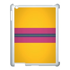 Layer Retro Colorful Transition Pack Alpha Channel Motion Line Apple Ipad 3/4 Case (white) by Mariart