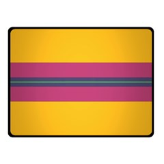 Layer Retro Colorful Transition Pack Alpha Channel Motion Line Double Sided Fleece Blanket (small)  by Mariart