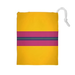 Layer Retro Colorful Transition Pack Alpha Channel Motion Line Drawstring Pouches (large)  by Mariart