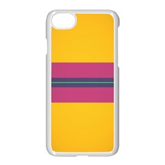 Layer Retro Colorful Transition Pack Alpha Channel Motion Line Apple Iphone 7 Seamless Case (white) by Mariart