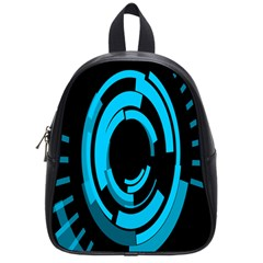 Graphics Abstract Motion Background Eybis Foxe School Bag (small) by Mariart