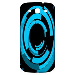 Graphics Abstract Motion Background Eybis Foxe Samsung Galaxy S3 S Iii Classic Hardshell Back Case by Mariart