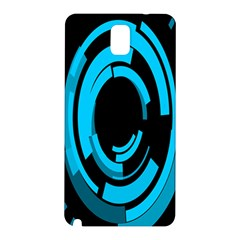 Graphics Abstract Motion Background Eybis Foxe Samsung Galaxy Note 3 N9005 Hardshell Back Case by Mariart