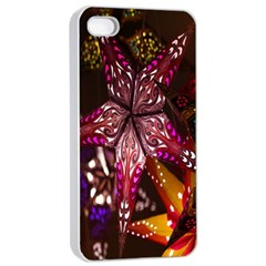 Hanging Paper Star Lights Apple Iphone 4/4s Seamless Case (white)
