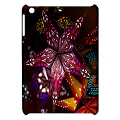Hanging Paper Star Lights Apple Ipad Mini Hardshell Case by Mariart