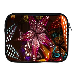 Hanging Paper Star Lights Apple Ipad 2/3/4 Zipper Cases by Mariart