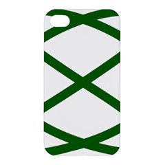 Lissajous Small Green Line Apple Iphone 4/4s Premium Hardshell Case by Mariart